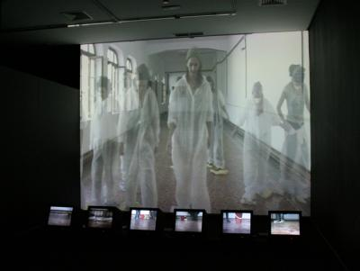 Exposición Vaciando-sé. Colectivo LimpiARTE. Red EspacioGuia